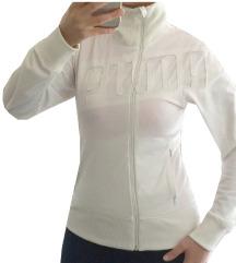 PUMA fehér melegítőfelső zipes M újsz