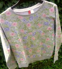 H&M virágmintás pulóver