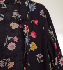 ÚJ STRADIVARIUS virágos maxi kimonó / ruha