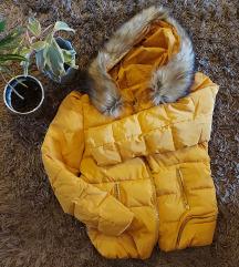 Mustársárga kabát