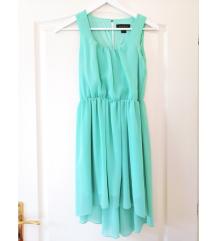 Menta zöld alkalmi ruha