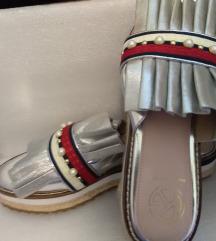 KG by Kurt Geiger Women's Metallic sandals