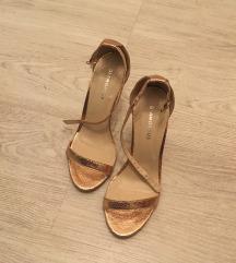 arany bronz cipő 36