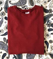 Piros melegítőszövet ruha