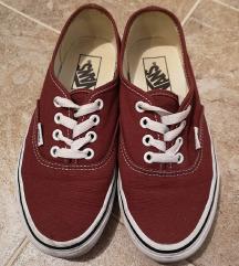VANS AUTHENTIC bordó cipő 36