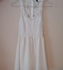H&M fehér nyári ruhácska