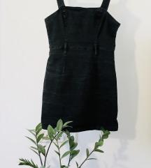 Primark black denim dress