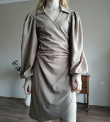 Világosbarna Crissy ruha IT GIRL Boutique