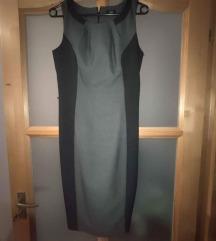 F&F alkalmi ruha fekete szürke