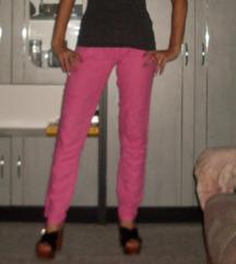 bershka pink nyári nadrág