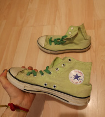 Zöld Converse tornacipő