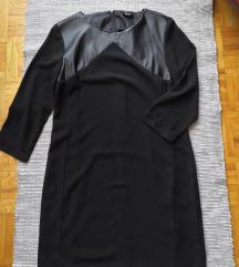 Bőrbetétes ruha