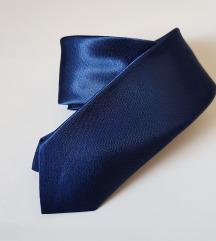 ÚJ szatén nyakkendő (vékony típus) – királykék