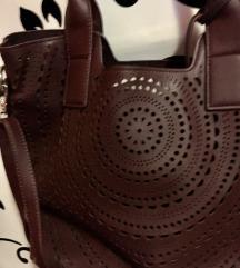 légervágott burgundy bordó táska