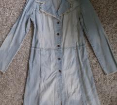 Farmer kabát, szaggatott, koptatott