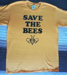 SAVE THE BEES feliratú póló
