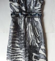 Piton mintás szűk ruha