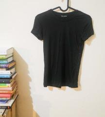 zara fekete póló S