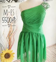 M-es zöld alkalmi ruha