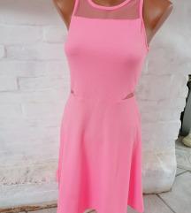 Puncs rózsaszín ruha