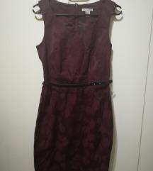 H&M burgundi ruha