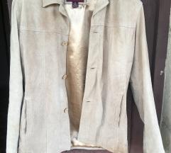 férfi velur kabát