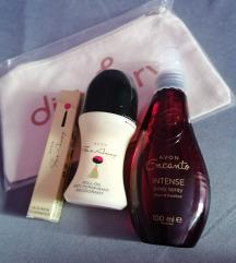 Far Away szett+testpermet ajándék kozmetikai táska