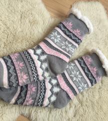 Téli, extra vastag zokni