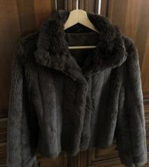 Műszőrme kabát 38