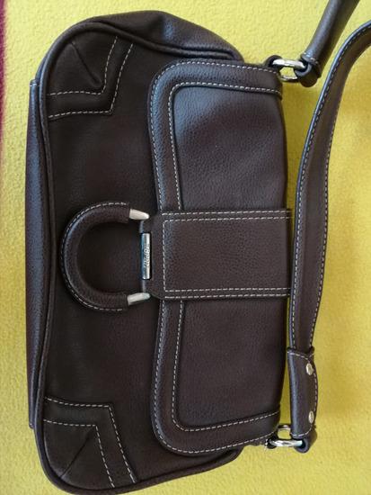 Sötétbarna színű Esprit táska,alig használt
