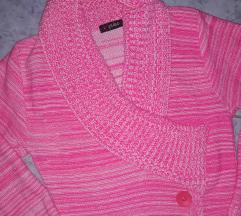 Pink kötött pulcsi/tunika