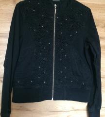kapucnis kabát L