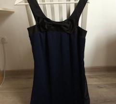 Vero Moda sötétkék masnis ruha