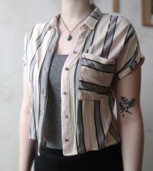 Csíkos rövidebb ing