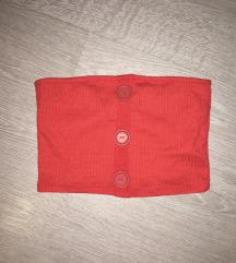 Piros crop top