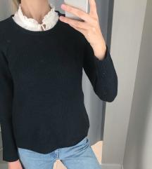 Tatuum sötétkék kötött pulóver