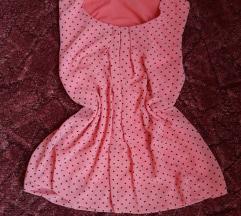 Pink pöttyös top🎀