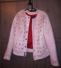 Púder színű Zara dzseki