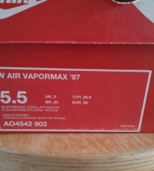 NIKE AIR VAPORMAX '97
