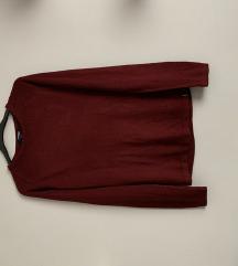 kenvelo bordó pulóver