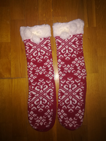 Karácsonyi Mikulás zokni új