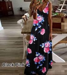 Teljesen Új Virágos maxi ruha