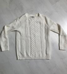 Törtfehér pulóver