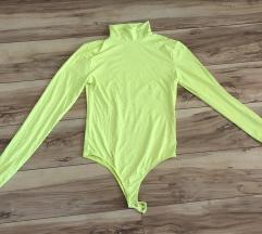 Bershka neon színű body