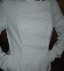 H&M fehér sok gombos kabátka S/M kabát blézer