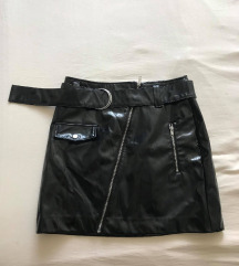 H&M fekete szoknya