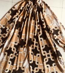 H&M 36-os rövid szatén ruha