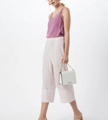 H&M rózsaszín csipkés blúz