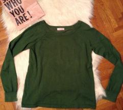 Zöld pulóver