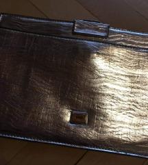 Ezüst alkalmi táska